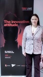 Lindsay West at TEDx UWE